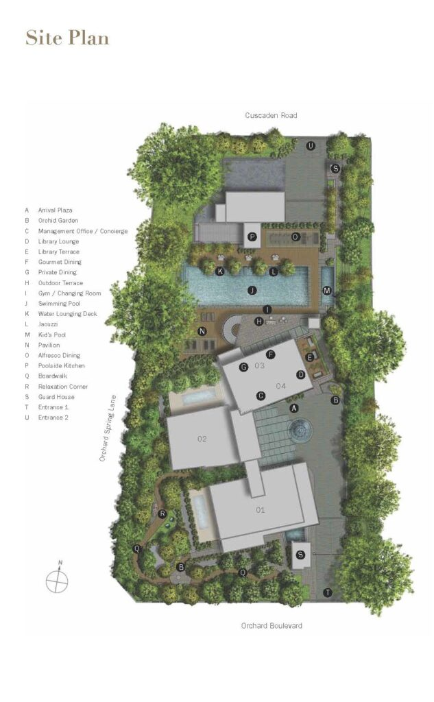 3 Orchard By The Park Site Plan