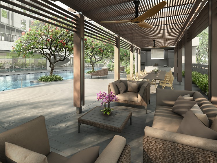 3 Orchard By The Park Site Plan Alfresco Dining