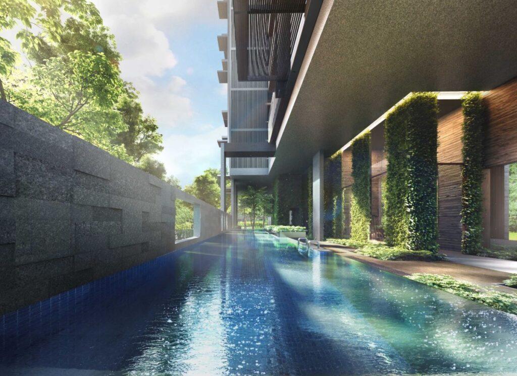 8 Hullet Site Plan Swimming