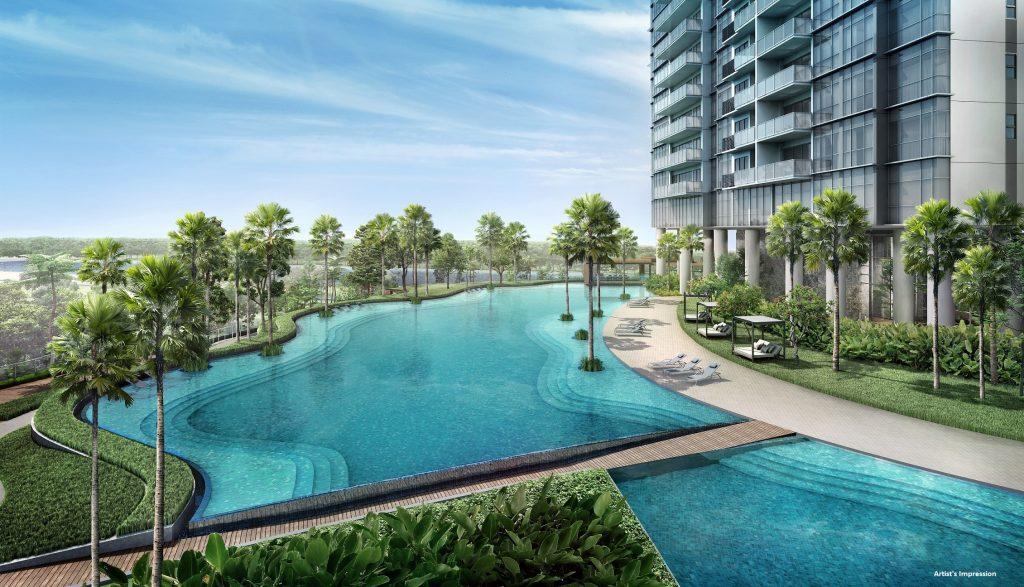 Twin Vew site plan rejuvenating pool