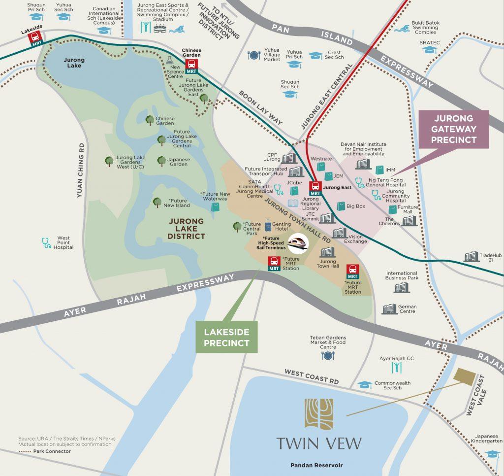 twin vew location