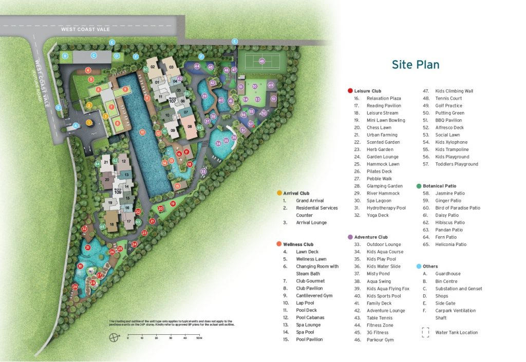 whistler grand site plan
