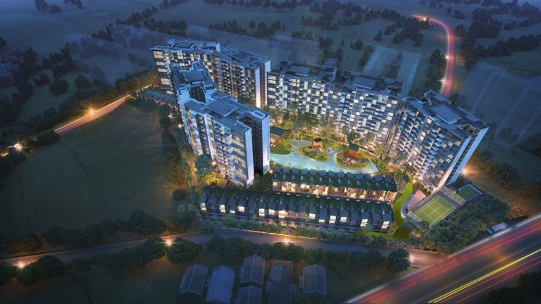 Affinity at Serangoon Site Plan Block View