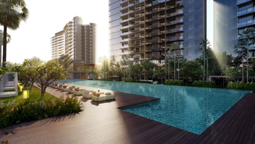 Parc Esta Site Plan Lap Pool