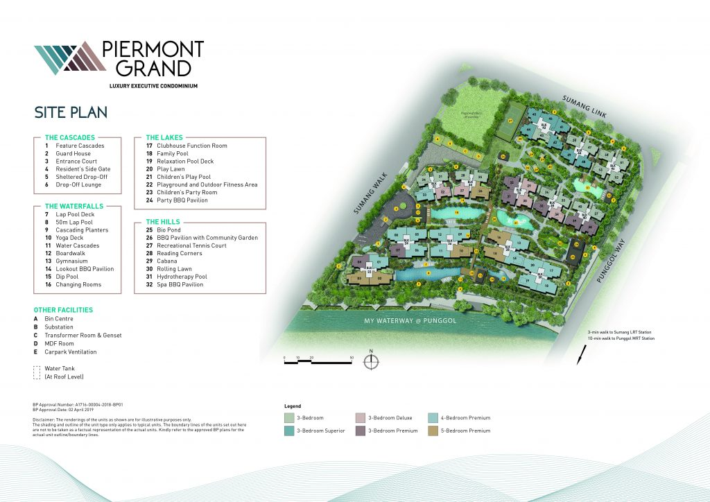 Piermont Grand site plan