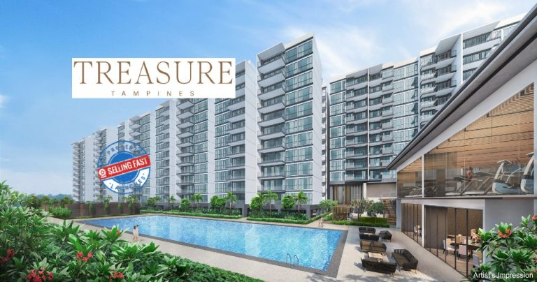 Treasure at Tampines Site Plan Featured