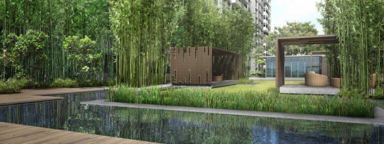 Forett at Bukit Timah Site Plan Pavilion