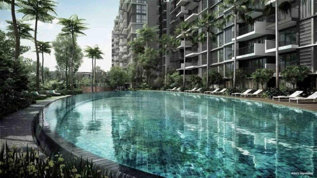 Forett at Bukit Timah Site Plan Pool