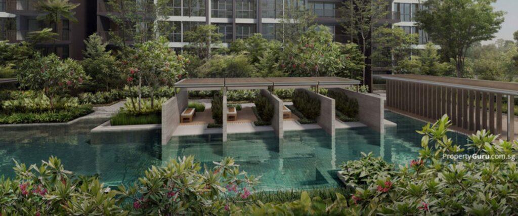 Forett at Bukit Timah Site Plan Pool Deck