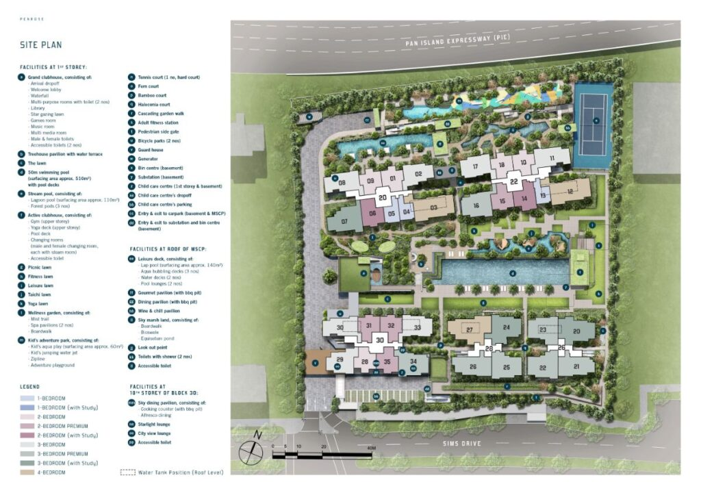 Penrose Site Plan