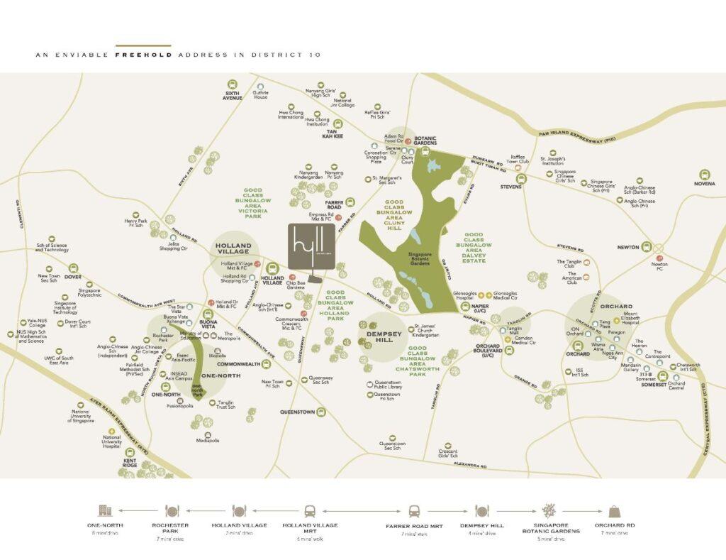 Hyll on Holland Location Plan