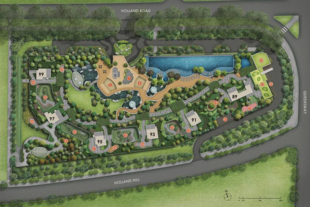Hyll on Holland Site Plan Facility