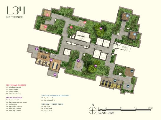 One Bernam Condo Site Plan (1)