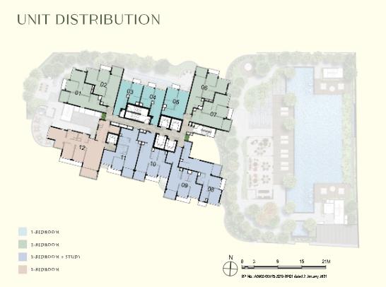 One Bernam Condo Site Plan Unit (1)