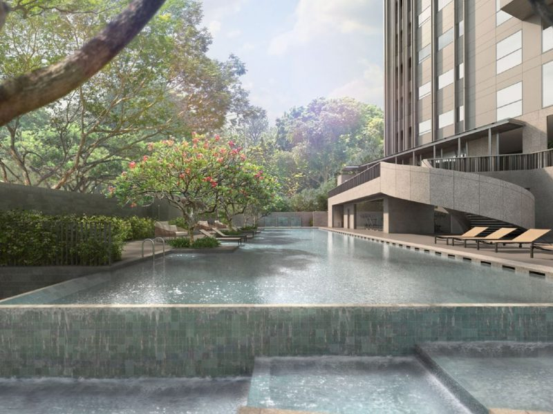 3 Orchard By The Park Site Plan Swimming