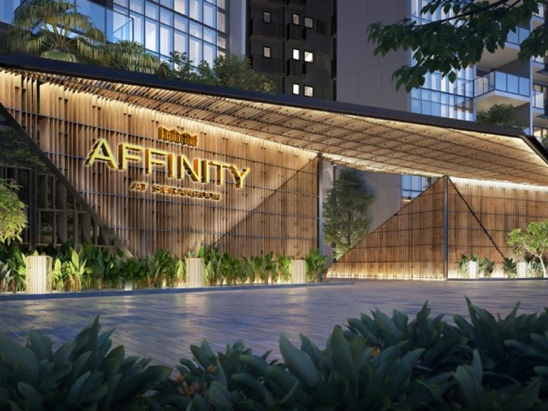 Affinity at Serangoon Location Entrance
