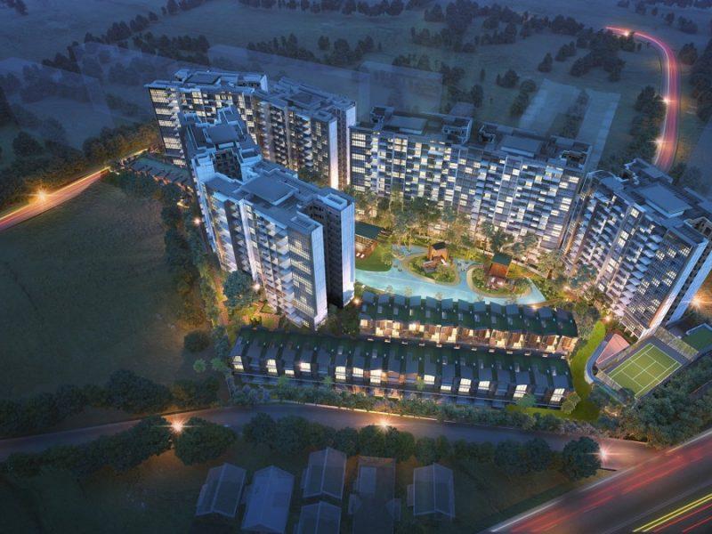 Affinity at Serangoon Site Plan Block View