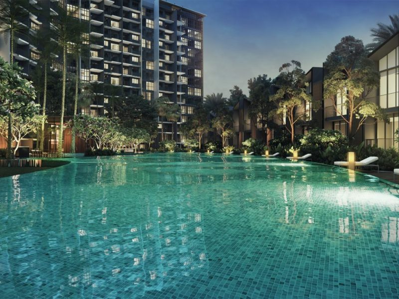 Affinity at Serangoon Site Plan Standing Pool