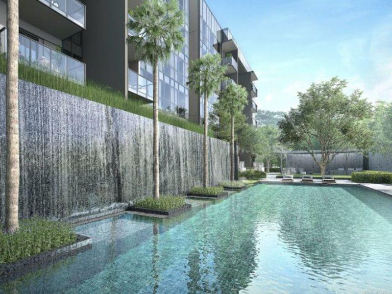 Forett at Bukit Timah Site Plan Lap Pool