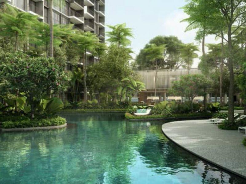 Forett at Bukit Timah Site Plan Lap Pool2