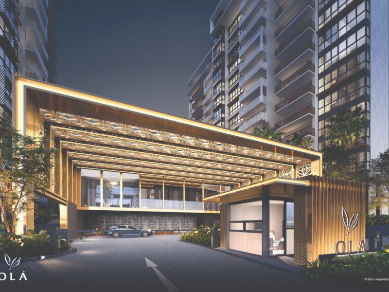 OLA Executive Condominium grand arrival
