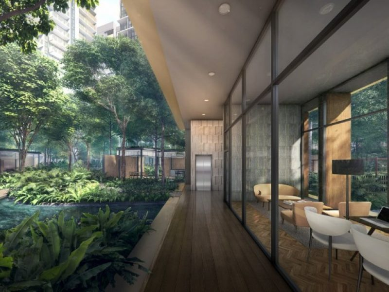 Riverfront Residence Site Plan Co-working space
