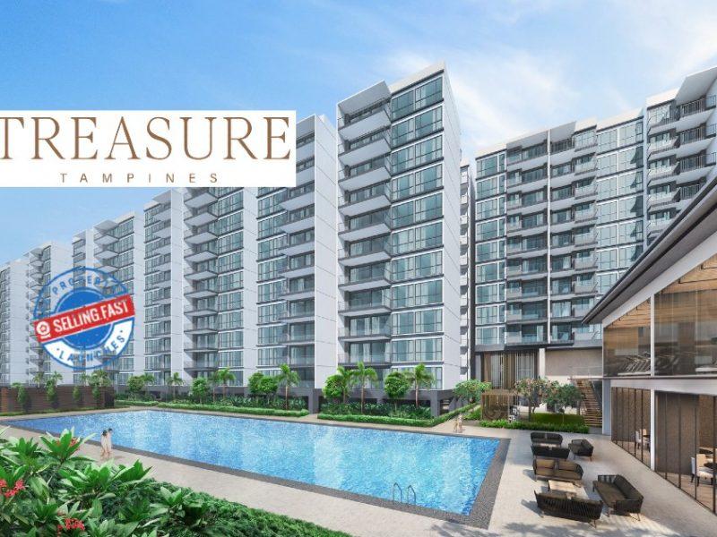 Treasure at Tampines Site Plan Featured