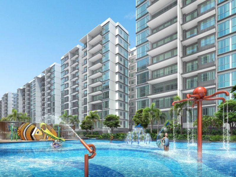 Treasure at Tampines Site Plan Kids Pool